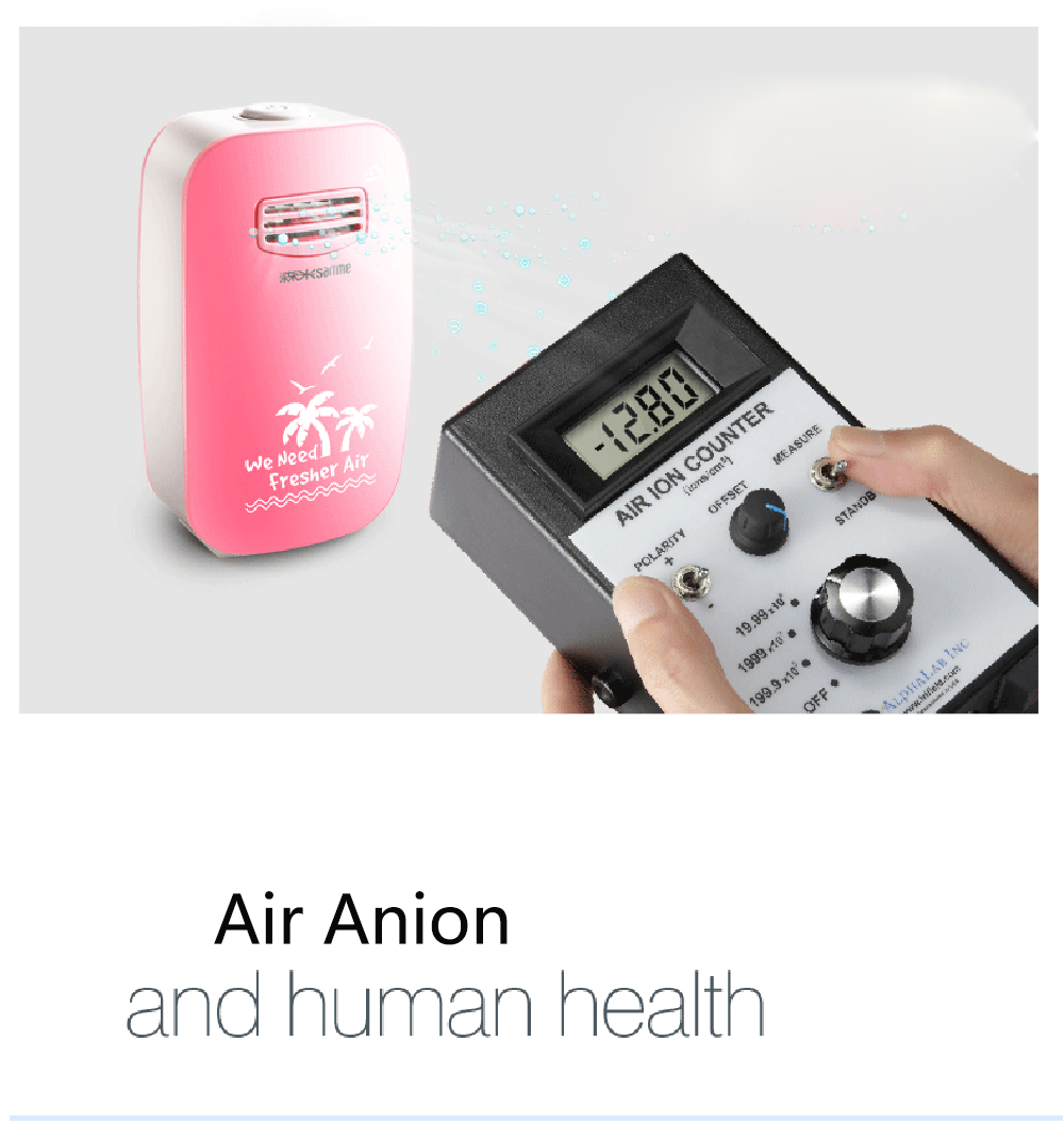 Office air cleaner Portable Mini Air Purifer ionizer