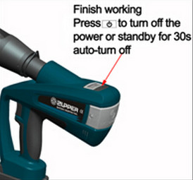 BZ-65C/85C/105C battery Powered Cable wire Cutting tool