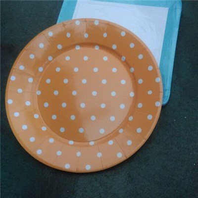 Round Paper Plate