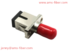 fiber optic adapter sc-st metal hybrid