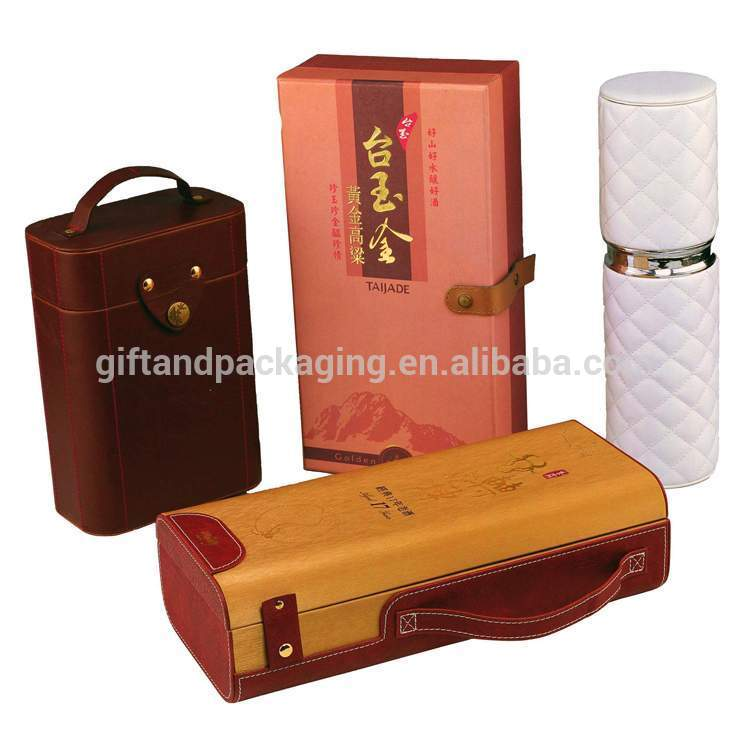 The newest individual wine box with handle with great price