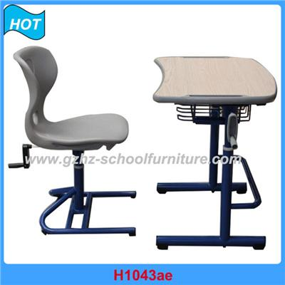H1043ar Pupil Table And Chair
