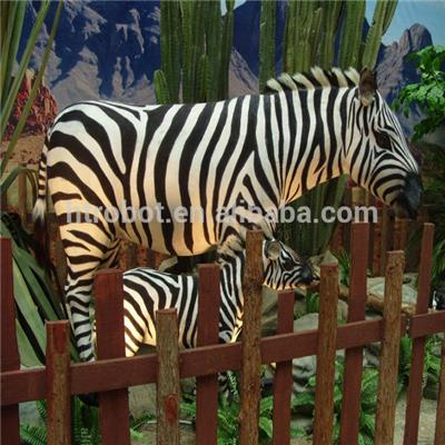 Animatronic Imitation Zebra Indoor