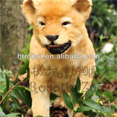 Animatronic Small Lion Outdoor