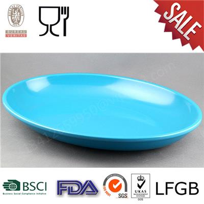 Restaurant Food Grade Melamine Oval Plate,melamine China Ware