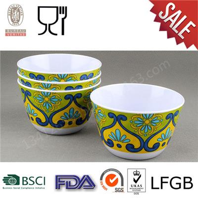 Custom Melamine Bowl Set