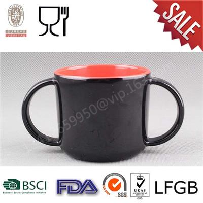 Factory Wholesale Melamine Kids Mug With Handle