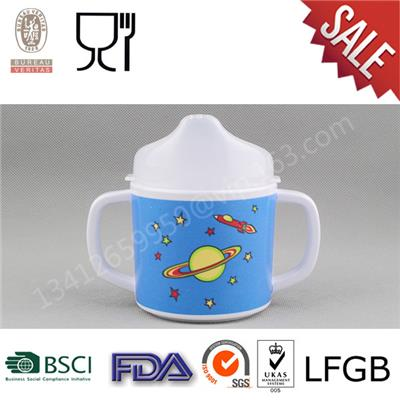 Melamine Kids Sippy Cup With Lid
