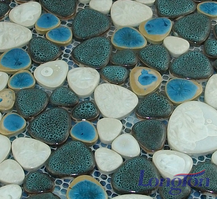 glazed mosaic tile