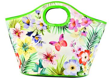Warm Heat Insulation Lunch bag Outdoor Food Container Thicker Bag(Butterfly pattern)