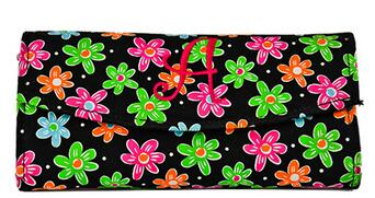 canvas long clutch bag, toiletry bag,Travel organizer Pouch holder for makeup tools
