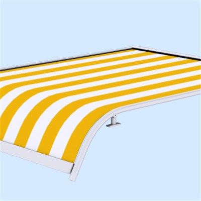 Modern design retractable canopy awning