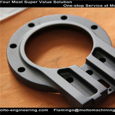 CNC Machined anodized Automotive Part