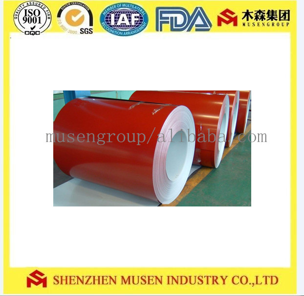 3003 Alloy Hot Color Aluminium Coated Coils for Architecture and Household Appliances