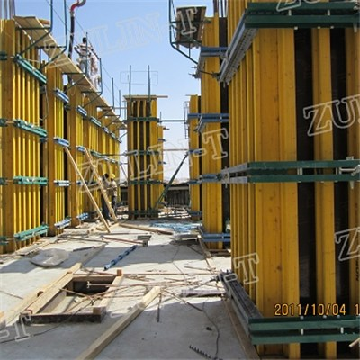 Timber System Column Formwork