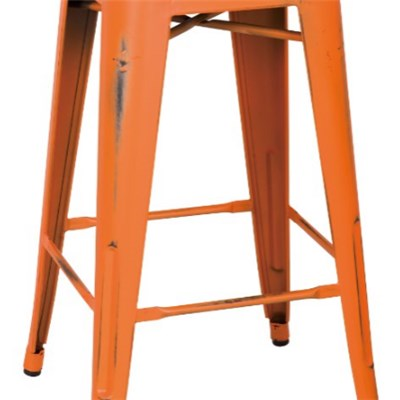 Meta Spray Painted Bar Stool