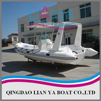 Rigid inflatable boat HYP660