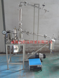 No leakage high   pressure or vacuum reactor