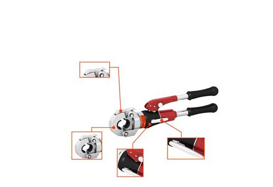 WY-430 manual hydraulic crimping pliers