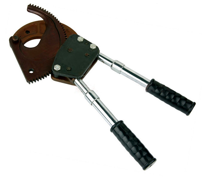 Manual Ratchet Cable Cutter for Cu/Al cablesteel stranded wire