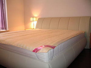 silk mattress pads/ underlay