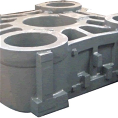 Ductile Cast Iron Stationary Platen For Injection Molding Machine