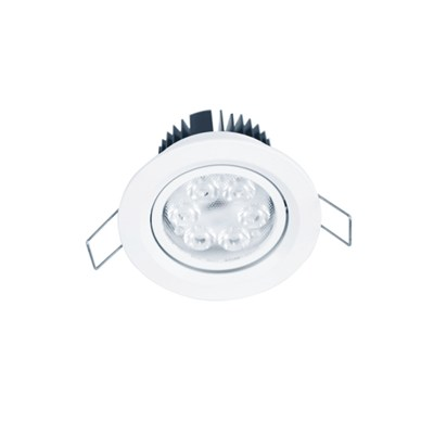 Lens distribution high CRI (Ra>90) high power LED downlight