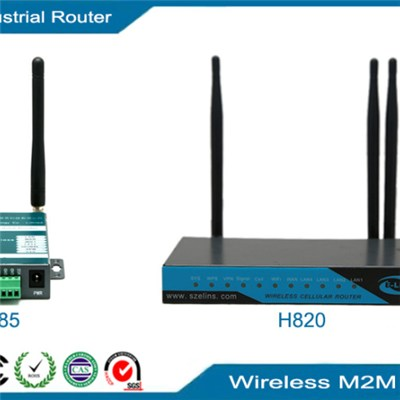 4G WiFi Router, 4G LTE M2M industrial VPN router with GPS Unlocked Sim Card Slot