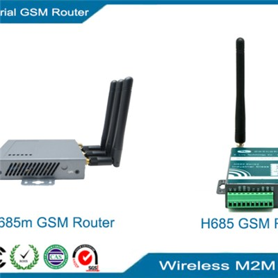GPRS Router, Industrial GSM router with serial RS485 and RS232