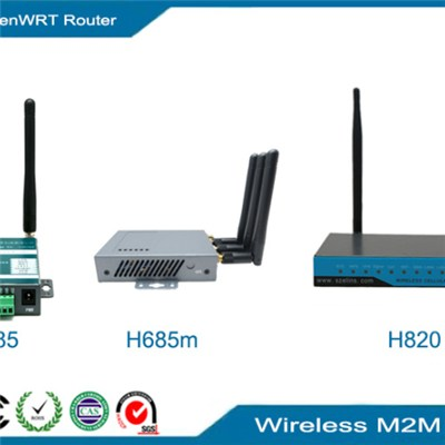 4G OpenWRT Router, OEM LTE WRT router with POE GPS Serial VPN