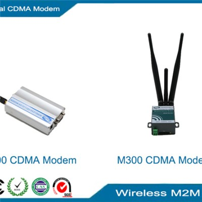 CDMA Modem, Industrial sim card modem with replacable antenna