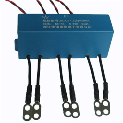 Combined DC Immune Current Transformer