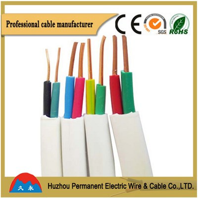 PVC Insulation Non-flexible Flat Cable