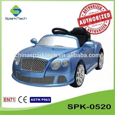 SparkTech 2016 Bentley 2.4G Kids Ride On Toys Electric Kids Riding Car For Kid