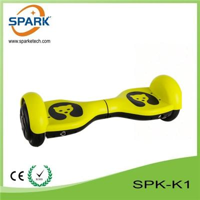 Novel Kids Product With Helmet & Protecter Two Wheels Self Balancing Scooter SPK-K1