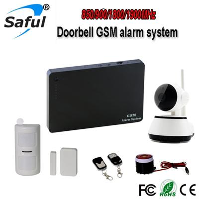 G3+ IP Camera Gsm Alarm Monitoring System