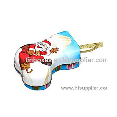 F06004 Shoe Shape Gift Tin