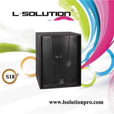 S18+ Powerfull Subwoofer