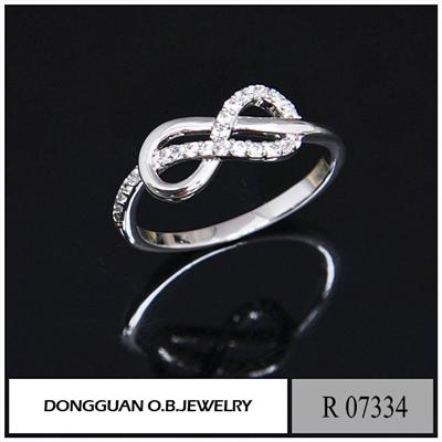 R7334 USA Jewelry Pure Silver Stone Ring Designs For Woman