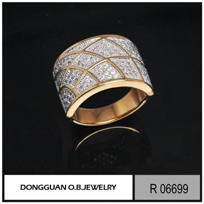 R6699 Handmade Dubai Gold Plated Jewelry