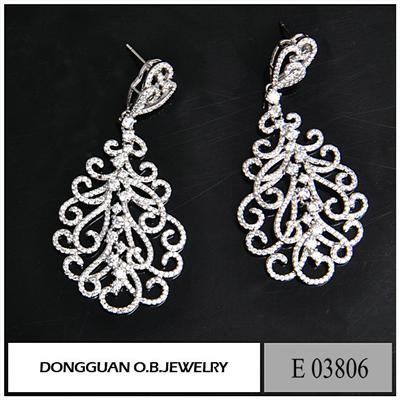 E3806 Newest Zirconia Earring