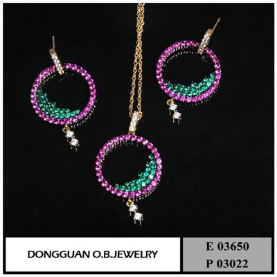 E3650 And P3022 New Arrived Jewelry Set