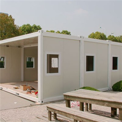 China Cheap One Storey Prebuilt Container Home For Sale