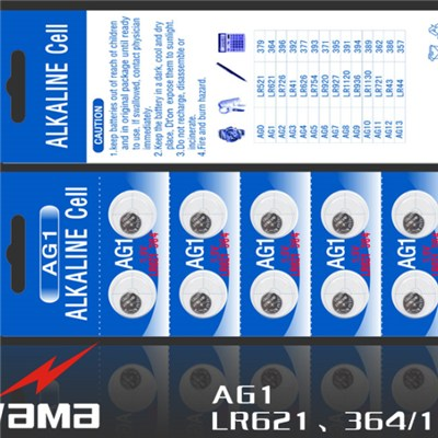 AG1 Alkaline Button Cell Battery