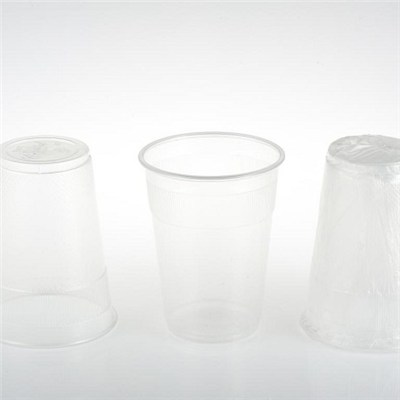 PP DISPOSABLE PLASTIC INDIVIDUALLY WRAPPED CUP