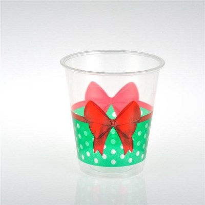 PP CUSTOMER PRINTED DISPOSABLE PLASTIC CUP