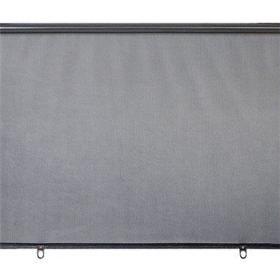Car Rear Nylon Mesh Roller Sun Shade