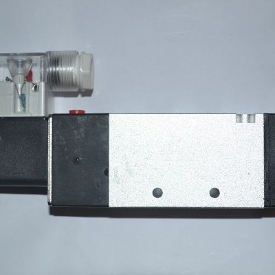 DC12V 24V 4V110-06 3V110-06 5 Way 2 3 Way 2 Single Solenoid Pneumatic Air Valve 1/8
