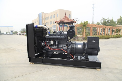 50hz 400v water cooling engine 250kva diesel generator