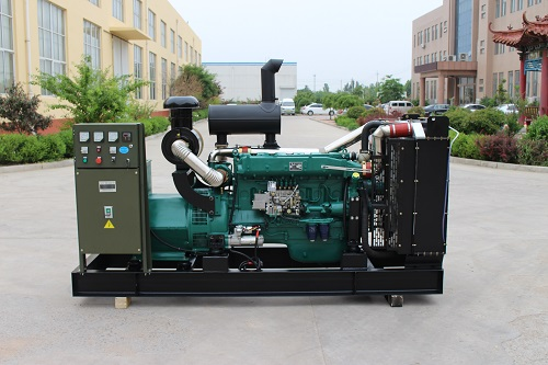 best price for 125kva open type diesel genset with ATS